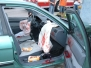 Car vs. Pole No seatbelt